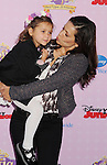 """BURBANK, CA - NOVEMBER 10: Constance Marie and daughter arrive at the Disney Channel's Premiere Party For """"Sofia The First: Once Upon A Princess"""" at the Walt Disney Studios on November 10, 2012 in Burbank, California."""