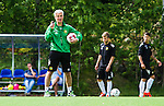 Stockholm 2014-06-07 Fotboll Superettan Hammarby IF - Tr&auml;ning :  <br /> Hammarbys tr&auml;nare coach manager i aktion under Hammarbys tr&auml;ning p&aring; &Aring;rsta IP den 7 juni 2014<br /> (Foto: Kenta J&ouml;nsson) Nyckelord:  Superettan  HIF Bajen Tr&auml;ning &Aring;rsta IP portr&auml;tt portrait