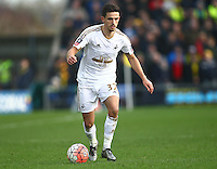 Liam Shephard of Swansea  during the Emirates FA Cup 3rd Round between Oxford United v Swansea     played at Kassam Stadium  on 10th January 2016 in Oxford