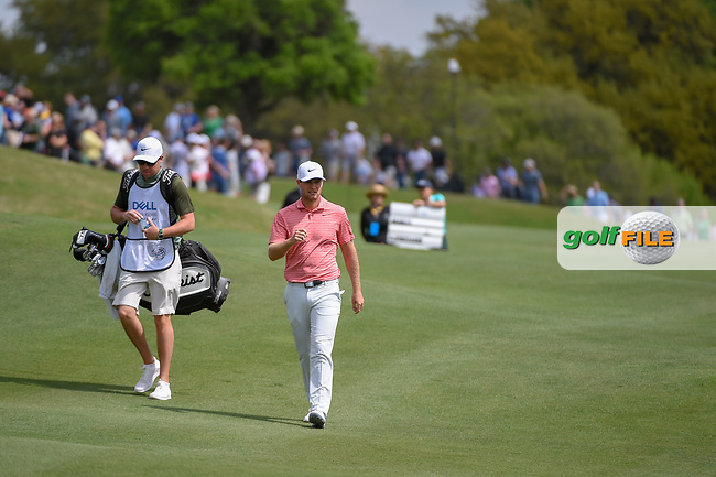 Lucas Bjerregaard (DEN) makes his way down 2 during day 2 of the WGC Dell Match Play, at the Austin Country Club, Austin, Texas, USA. 3/28/2019.<br /> Picture: Golffile | Ken Murray<br /> <br /> <br /> All photo usage must carry mandatory copyright credit (© Golffile | Ken Murray)