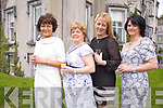 Liz O'Sullivan, Mary Stone, Helen O'Connor and Mairead O'Mahony all from Tralee at the 10th Annual Enable Ireland Ladies Luncheon held in Ballyseedy Castle on Friday May 13th.