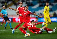 17th November 2019; Stadion Rajko Mitic, Belgrade, Serbia; European Championships 2020 Qualifier, Serbia versus Ukraine; Branko Jovicic of Serbia  - Editorial Use