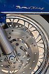 Harley Davidson Road King motorcycle disk brake study.