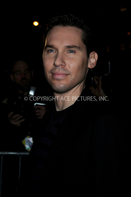 WWW.ACEPIXS.COM . . . . .....December 16, 2008. New York City.....Director Bryan Singer attends the Valkyrie premiere held at Rose Hall, Time Warner Center on December 15, 2008 in New York City.  ....Please byline:  AJ Sokalner - ACEPIXS.COM..... *** ***..Ace Pictures, Inc:  ..Philip Vaughan (646) 769 0430..e-mail: info@acepixs.com..web: http://www.acepixs.com