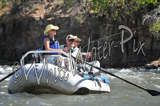 Fishermen and Women fishing the Upper Colorado River from Rancho to Sate Bridge, August 20, 2013, AM, Bond, Colorado - WhiteWater-Pix | River Adventure Photography - by MADOGRAPHER Doug Mayhew