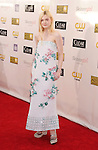 SANTA MONICA, CA - JANUARY 10: Elle Fanning arrives at the 18th Annual Critics' Choice Movie Awards at The Barker Hanger on January 10, 2013 in Santa Monica, California.