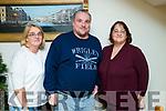 Catherine Keogh (Ballymacelligott) with John McEllistrim (Ballymacelligott) and Martina McEllistrim (Ballymacelligott and Chicago), pictured at family dinner at Bella Bia restaurant, Tralee on Friday night last.
