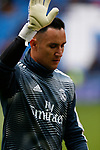 Real Madrid CF's Keylor Navas during La Liga match. April 06, 2019. (ALTERPHOTOS/Manu R.B.)