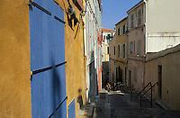 Europe/France/Provence-Alpes-Côte d'Azur/13/Bouches-du-Rhône/Marseille : Le Panier - Les façades