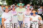 L-R Simone and Carroll Hunt, Toby Wattan, Ava Kirby and Simera hunt all from Tralee at the Kerry Colour Run in Killarney last Saturday morning.