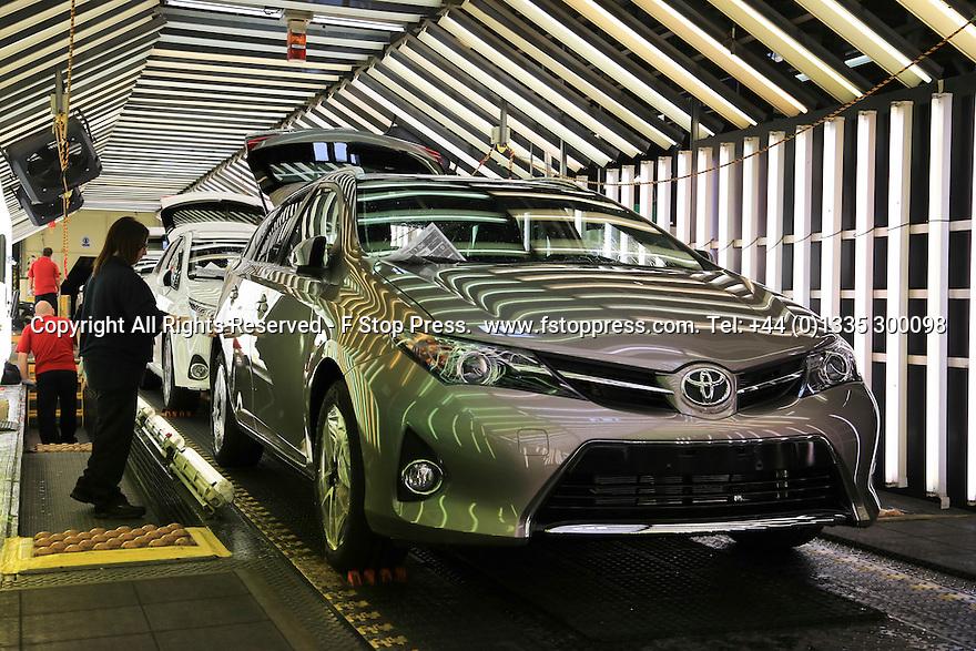 15/05/14<br /> <br /> Toyota, Burnaston, UK.<br /> <br /> All Rights Reserved - F Stop Press.  www.fstoppress.com. Tel: +44 (0)1335 300098