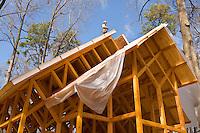 Chapel construction in Belmont, NC.
