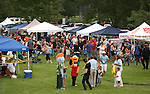 Thousands of residents participate in the 11th annual National Night Out hosted by the Carson City Sheriff's Office in Carson City, Nev., on Tuesday, Aug. 6, 2013. <br />