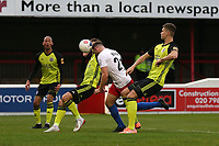 Ben House of Dagenham and Redbridge scores the second goal for his team and celebrates during Dagenham & Redbridge vs Aldershot Town, Vanarama National League Football at the Chigwell Construction Stadium on 16th November 2019