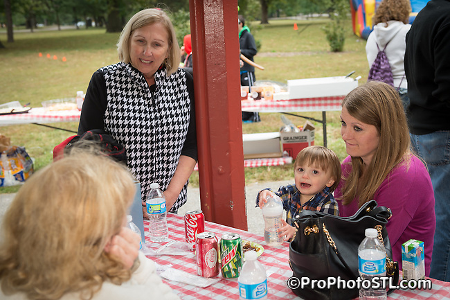 Jost Chemical Company 30th anniversary picnic in Tower Grove Park in St. Louis, Missouri on Oct 4, 2015