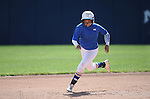 Western Nevada College Wildcats' Triniece Lesky runs the bases during a preseason softball game against Shasta College in Reno, Nev., on Saturday, Sept. 20, 2014.<br /> Photo by Cathleen Allison