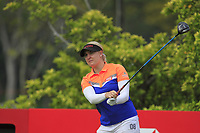 Charley Hull (ENG) in action on the 3rd during Round 2 of the HSBC Womens Champions 2018 at Sentosa Golf Club on the Friday 2nd March 2018.<br /> Picture:  Thos Caffrey / www.golffile.ie<br /> <br /> All photo usage must carry mandatory copyright credit (&copy; Golffile | Thos Caffrey)