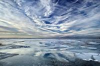 Peconic Bay thawing