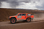 Car racer Roby Gordon from USA driving his Gordini car during the 5th stage of the Dakar Rally 2016 in the Bolivian Altiplano.