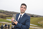 Wales Golf Awards 2017<br /> Oliver Farr, Tour Professional of the Year<br /> Celtic Manor Resort<br /> 23.03.18<br /> Steve Pope ©Sportingwales