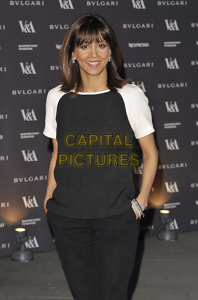 LONDON, ENGLAND - APRIL 02: Riz Lateef attends the &quot;The Glamour of Italian Fashion 1945-2014&quot; private view, V&amp;a Museum, Cromwell Rd., on Wednesday April 02, 2014 in London, England, UK.<br /> CAP/CAN<br /> &copy;Can Nguyen/Capital Pictures