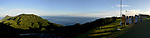 Orchid Island (蘭嶼), Taiwan -- Panotramic view over the southern side of Orchid Island from the mountain-top weather station.