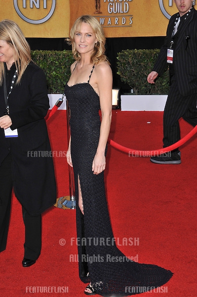 Robin Wright Penn at the 17th Annual Screen Actors Guild Awards at the Shrine Auditorium..January 30, 2011  Los Angeles, CA.Picture: Paul Smith / Featureflash