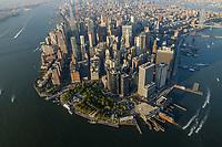 NOVA YORK, EUA, 17.09.2018 - CIDADE-NOVA YORK - Vista aerea da cidade de Nova York nos Estados Unidos (Foto: Vanessa Carvalho/Brazil Photo Press)