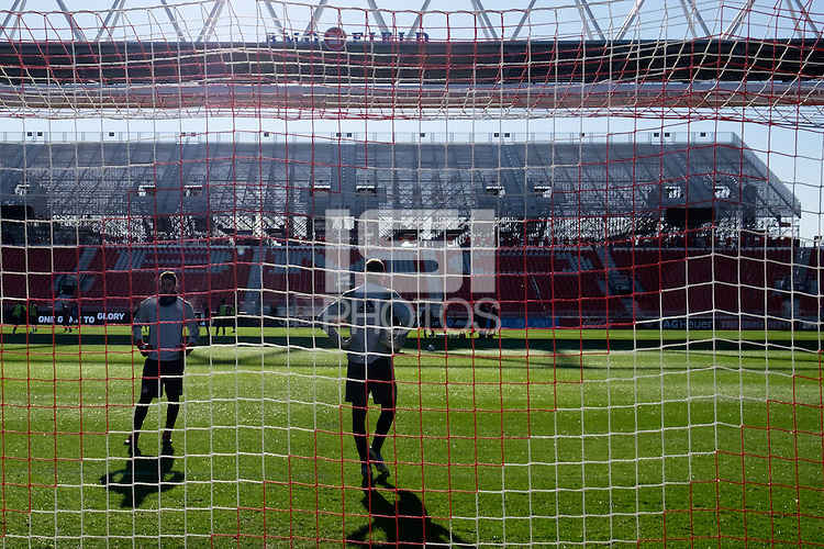 Toronto, ON, Canada - Friday Dec. 09, 2016: Alex Bono, Clint Irwin during training prior to MLS Cup at BMO Field.