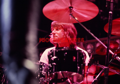Asia 1982 Carl Palmer.© Chris Walter.