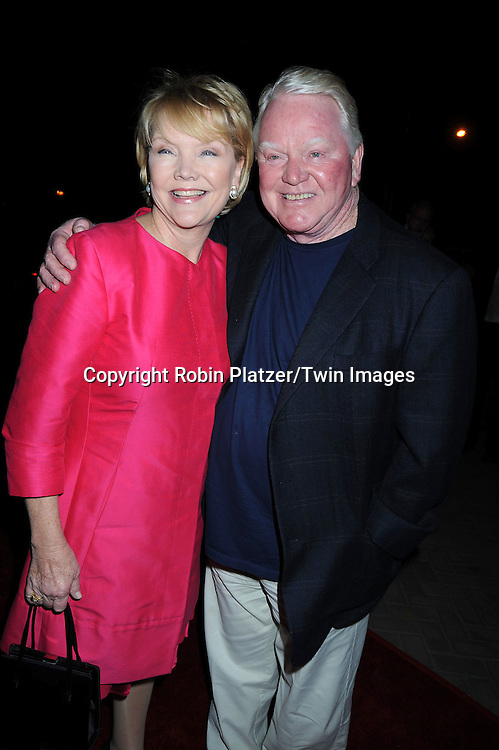 Erika Slezak and husband Brian Davies attending ABC Casino Night on October 28, 2010 at Guastavinos in New York City. .