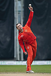 Daniel Pascoe of HKI United bowls during the DTC Hong Kong T20 Blitz match between HKI United vs City Kaitak on 12 March 2017, in Tin Kwong Road Recreation Ground, Hong Kong, China. Photo by Chris Wong / Power Sport Images