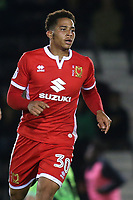 Sam Nombe of MK Dons during Forest Green Rovers vs MK Dons, Carabao Cup Football at The New Lawn on 8th August 2017