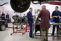 Motor Mechanics, Further Education College.