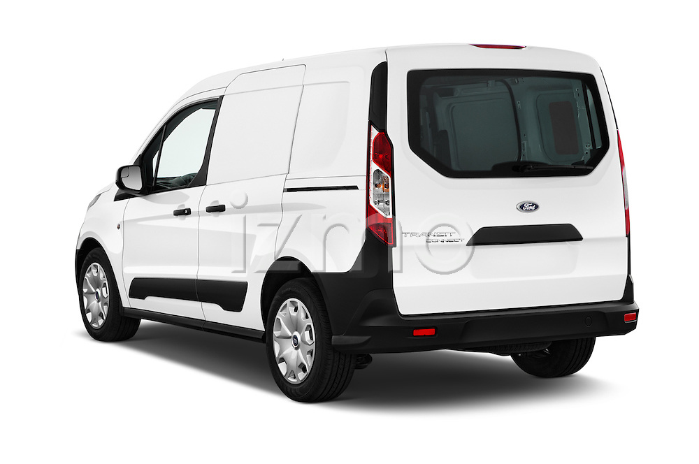 Car pictures of rear three quarter view of 2016 Ford Transit-Connect Van-XL-SWB-(Rear-Liftgate) 5 Door Mini MPV Angular Rear