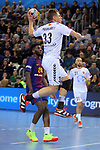 VELUX EHF 2017/18 EHF Men's Champions League Group Phase - Round 11.<br /> FC Barcelona Lassa vs HC Vardar: 29-28.<br /> Daniil Shishkarev.
