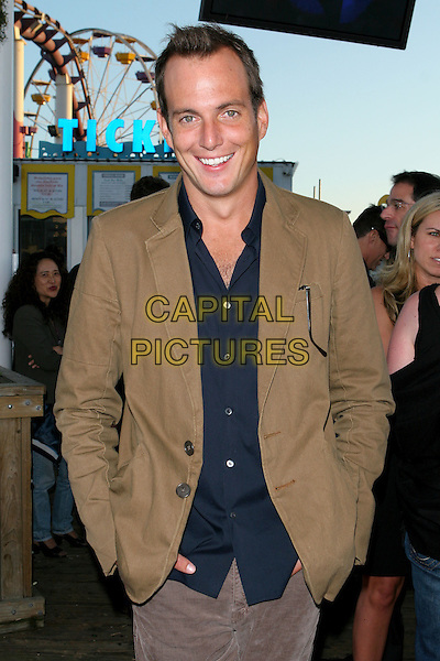 WILL ARNETT.Fox TCA Party, .Santa Monica, 29th July 2005.half length black navy shirt brown tan jacket.www.capitalpictures.com.sales@capitalpictures.com.© Capital Pictures.