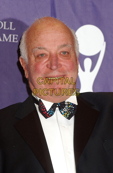 SEYMORE STEIN.2005 Rock and Roll Hall of Fame Induction Ceremony held at the Waldorf Astoria, New York, New York.March 14th, 2005.Photo Credit: Laura Farr/AdMedia.headshot portrait Co Founder, CEO Sire Records, Inductee bow tie.www.capitalpictures.com.sales@capitalpictures.com.© Capital Pictures.