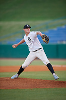 Jacob Kmatz (22) of Sandia High School in Albuquerque, NM during the Perfect Game National Showcase at Hoover Metropolitan Stadium on June 20, 2020 in Hoover, Alabama. (Mike Janes/Four Seam Images)