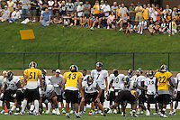 Ben Roethlisberger, Pittsburgh Steelers quarterback. Training camp, August 11, 2011 at Latrobe, Pennsylvania.