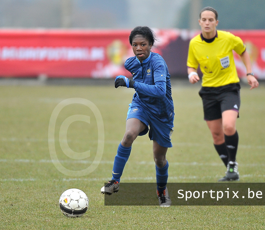 France U19 - Russia U19 : Aminata Diallo.foto DAVID CATRY / Nikonpro.be