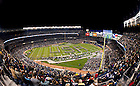 Nov. 20, 2010; The Notre Dame Marching Band plays the Star Spangled Banner before kickoff of the Army game at Yankee Stadium. ..Photo by Matt Cashore/University of Notre Dame