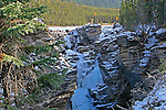 ATHABASCA FALLS, JASPER NATIONAL PARK, ALBERTA CANADA