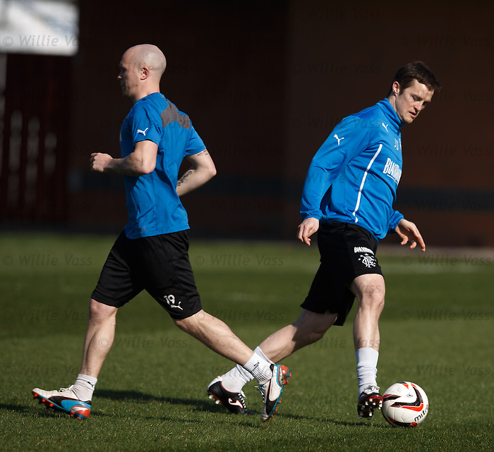 Nicky Law and Jon Daly
