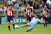Sporting Kansas City vs Club Deportivo Chivas USA July 09 2011