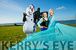 Anna, Elsa,  and Olaf launch the 'Frozen Fest' in Ballybunion on Sunday 13th March at 2pm