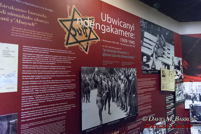 Kigali Genocide Museum Exhibit Of The Holocaust