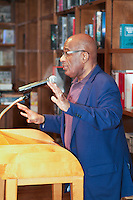 Al Roker speaks at Books & Books about his memoir, Never Goin Back: Winning the Weight Loss Battle for Good, Coral Gables, FL, on February 22, 2013.
