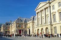France, Versailles, palace, Yvelines, Ile de France, Paris, Europe, Chateau de Versailles.