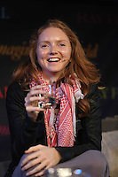 Sunday 25 May 2014, Hay on Wye, UK<br /> Pictured: Model Lily Cole<br /> Re: The Hay Festival, Hay on Wye, Powys, Wales UK.